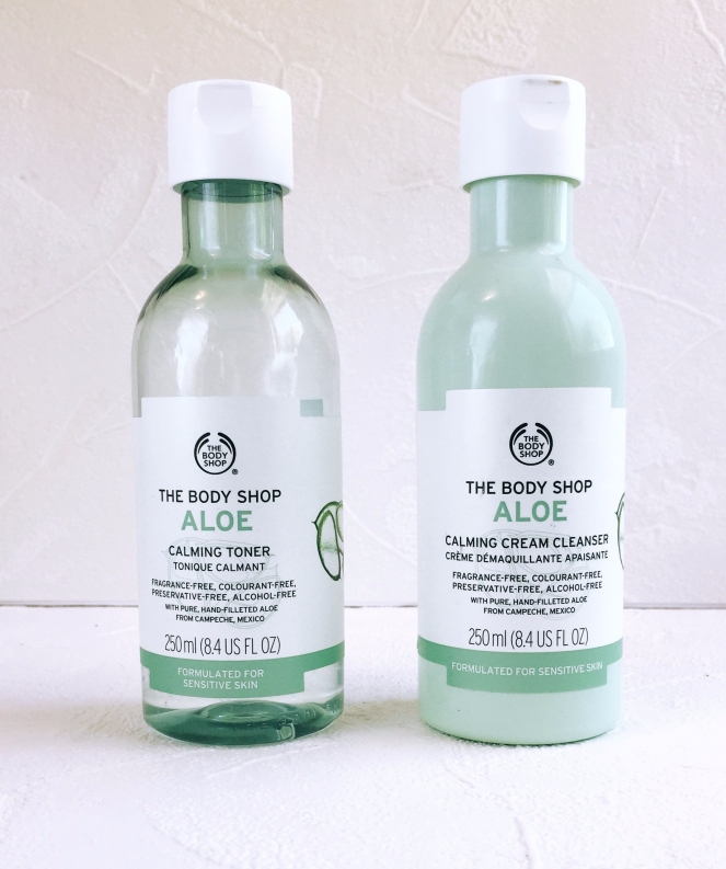 body shop aloe cleanser review